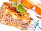 Рецепта Класическа картофена мусака с кайма и заливка
